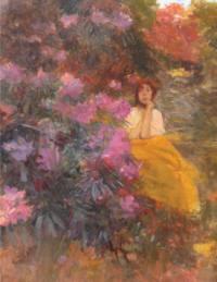 Portrait de Juliette vers 1892
