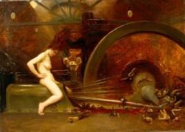 Dynamis ou la houille rouge 1902 Musée des Beaux Arts de Tours