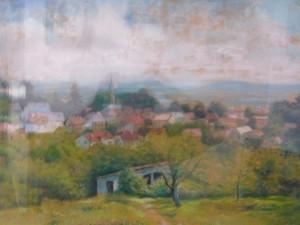 vue de la vallée depuis le chemin des claies